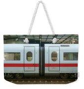 Ice Train At Berlin Station Weekender Tote Bag