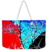 Ice Tree Weekender Tote Bag by Eikoni Images