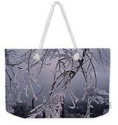 Ice Trees Weekender Tote Bag