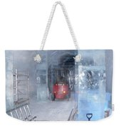 Ice Truck Weekender Tote Bag by Maria Joy