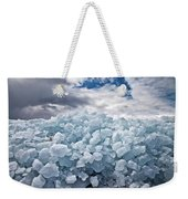 Ice Wall Weekender Tote Bag