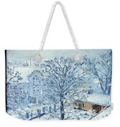 Ice White Weekender Tote Bag