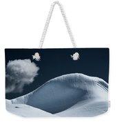 Iceberg And Cloud Weekender Tote Bag