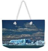 Iceberg In Viedma Lake - Patagonia Weekender Tote Bag