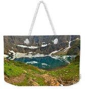 Iceberg Lake Glacier Weekender Tote Bag