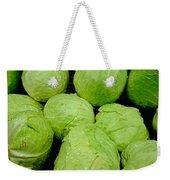 Iceberg Lettuce Weekender Tote Bag