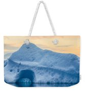 Iceberg On The Jokulsarlon Glacial Weekender Tote Bag