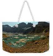 Icebergs Below Grinnell Glacier Weekender Tote Bag