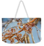 Iced Gold Weekender Tote Bag