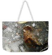 Iced Leaf Weekender Tote Bag