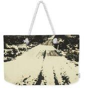 Iced Over Road Weekender Tote Bag