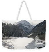 Iced River Weekender Tote Bag