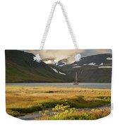 Iceland 33 Weekender Tote Bag