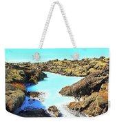 Iceland Blue Lagoon Healing Waters Weekender Tote Bag