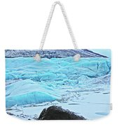 Iceland Glacier Bay Glacier Mountains Iceland 2 322018 1789.jpg Weekender Tote Bag