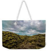Iceland Moss And Clouds Weekender Tote Bag