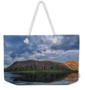 Iceland Mountain Reflections  Weekender Tote Bag