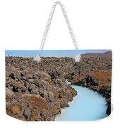 Iceland Tranquil Blue Lagoon  Weekender Tote Bag