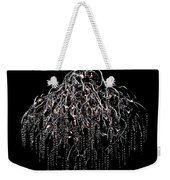 Icicle Chandelier Weekender Tote Bag