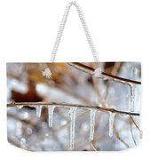 Icicles And Bokeh Weekender Tote Bag