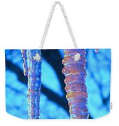 Icicles Four Weekender Tote Bag
