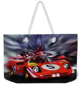 Ickx And Schetty Weekender Tote Bag