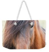 Iclelandic Horse Close Up Weekender Tote Bag