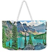 Iconic Banff National Park Attraction Weekender Tote Bag