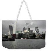 Iconic London Skyline Weekender Tote Bag