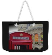 Iconic Postbox And Lyceum Theatre Weekender Tote Bag
