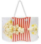 Iconic Striped Popcorn Carton Weekender Tote Bag