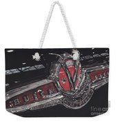Icons Buick V8 Weekender Tote Bag
