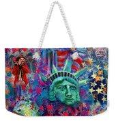 Icons Of Freedom Weekender Tote Bag