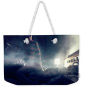 Icons Of Horror Nightmare On Elm Street Weekender Tote Bag