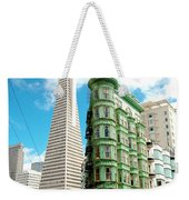 Icons Of San Fran Weekender Tote Bag