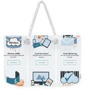 Icumulus Services Weekender Tote Bag