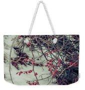 Icy Berries Weekender Tote Bag