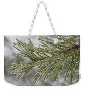 Icy Fingers Of The Pine Weekender Tote Bag