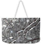 Icy Glitters Weekender Tote Bag