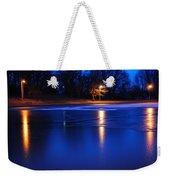 Icy Glow Weekender Tote Bag