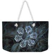 Icy Jewel Weekender Tote Bag by Alexey Kljatov
