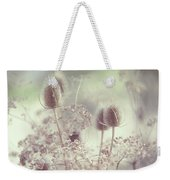 Icy Morning. Wild Grass Weekender Tote Bag