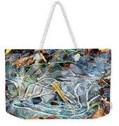 Icy Patterns Weekender Tote Bag
