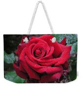Icy Rose Weekender Tote Bag