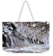 Icy Spring Weekender Tote Bag