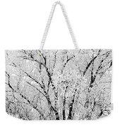 Icy Tree Weekender Tote Bag