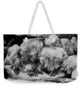 Icy Harmony Weekender Tote Bag