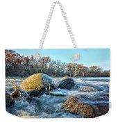Icy Waters 2 Weekender Tote Bag