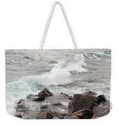Icy Waves Weekender Tote Bag