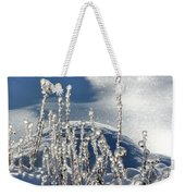 Icy World Weekender Tote Bag